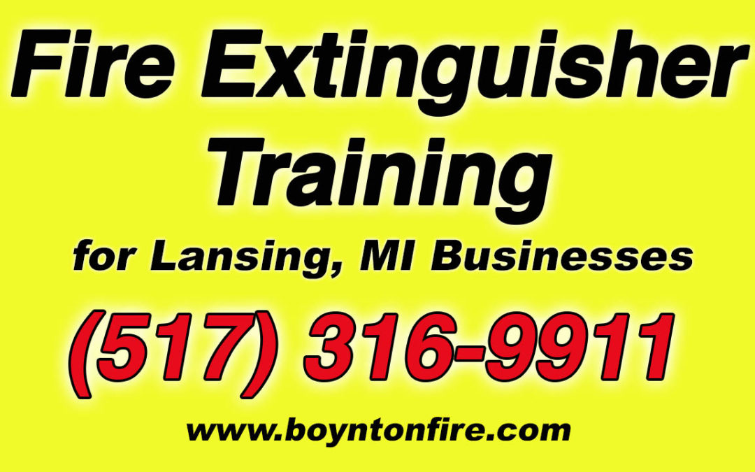 Fire Extinguisher Training Lansing MI
