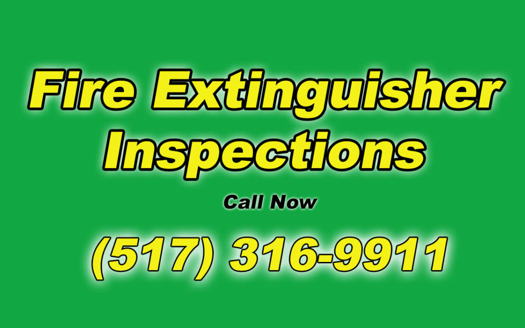 Fire Extinguisher Inspections Delhi Charter Township MI Michigan